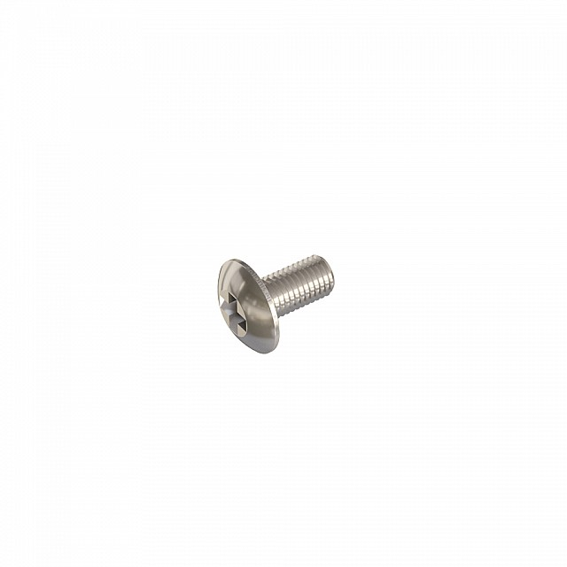 FURNITURE HANDLE MACHINE SCREWS M4x8/ NICKEL